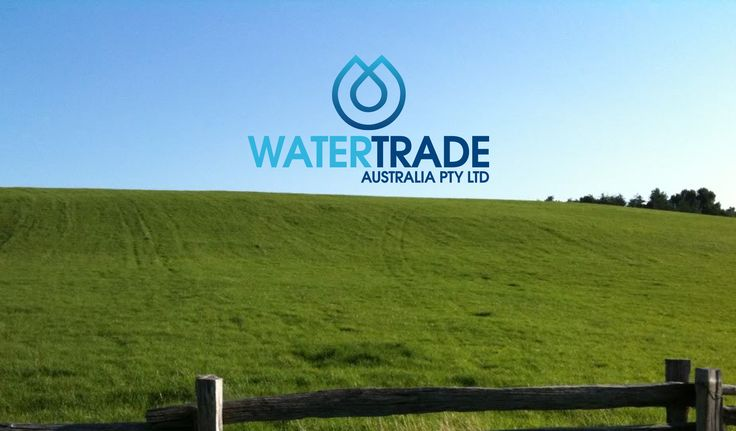 Logo design for Water Trade Australia.