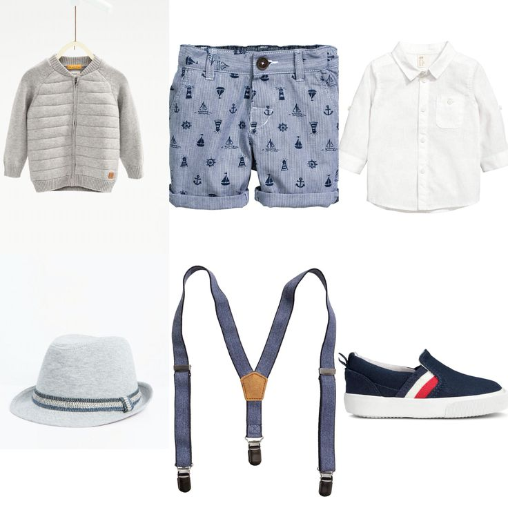 Baby boy outfit idea. H&M and Zara 2016 summer.