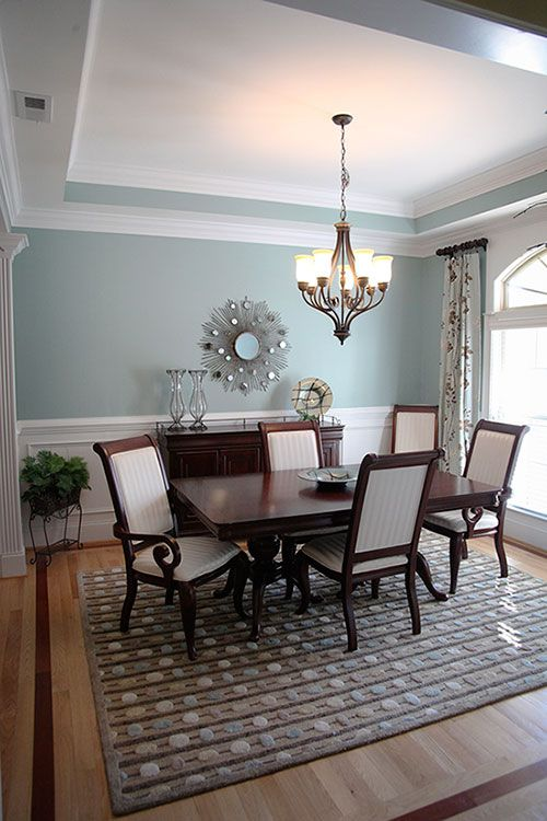 Blue Dining Room Paint