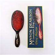 """BN1 """"Popular"""" er den største hårbørste i sortimentet og er lavet af et mix af vildsvine hår og nylon. børsten i et mix af vildsvine hår og nylon anbefales fra normalt til kraftigt hår. BN1 er et fremragende valg til et langt hår."""