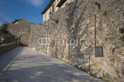 Castel Trosino, main entrance of the old medieval village