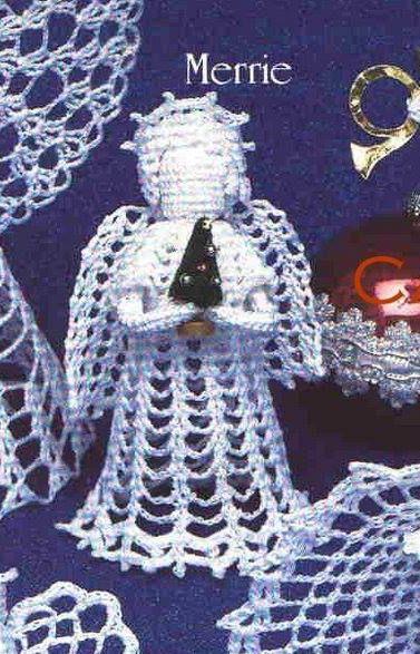 En liten engel Marrie - hekleoppskrift (katerina)