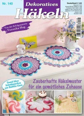 Dekoratives Häkeln Epaper Titelbild Ausgabe 1402018 Riviste