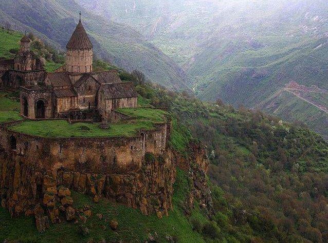 9th century Monastery of Tatev in southeastern Armenia - Imgur