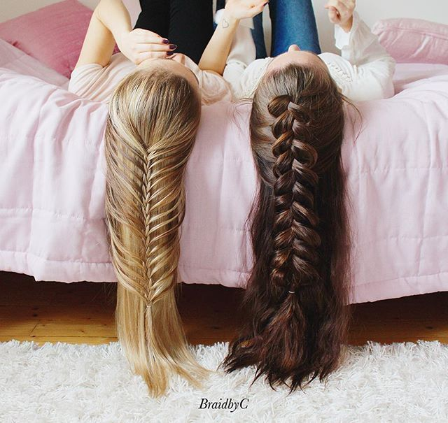 mermaid braids for days...