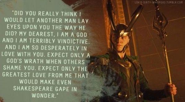 Jealous Loki!