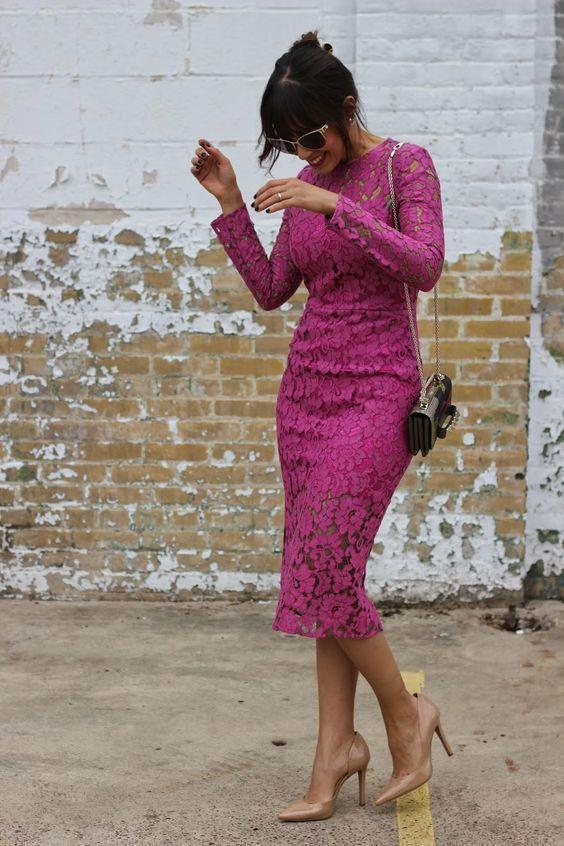 Rosa Kleid Kombinieren Welche Schuhe Passen Zu Rosa Kleid Colection201 De Modestil Etuikleid Kleider