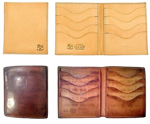 Il Bisonte wallet.