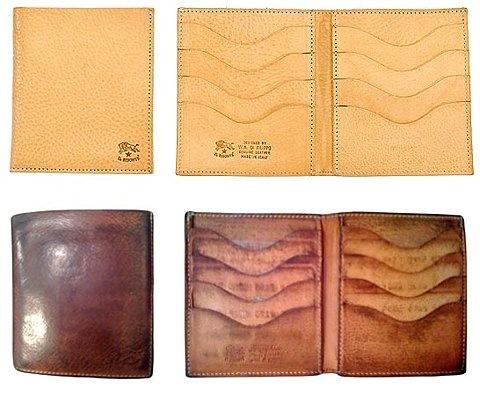 Il Bisonte wallet.