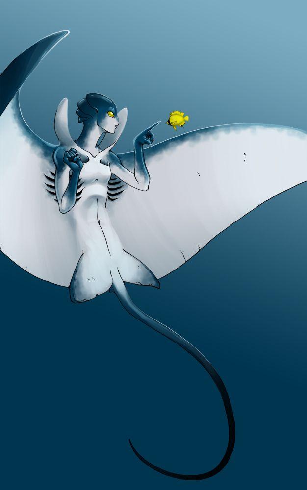 Monster Girl Challenge: Mermaid by TravJames.deviantart.com on @deviantART