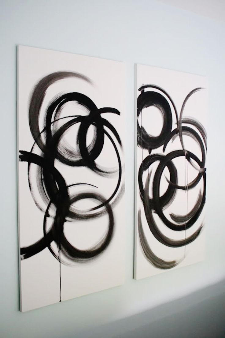 104 best DIY - Art images on Pinterest | Painting, 3 piece wall ...