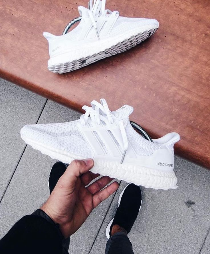 adidas Ultra Boost 2.0 Triple White! Einer der besten adidas Sneaker für Männer & Frauen! Foto: unknown