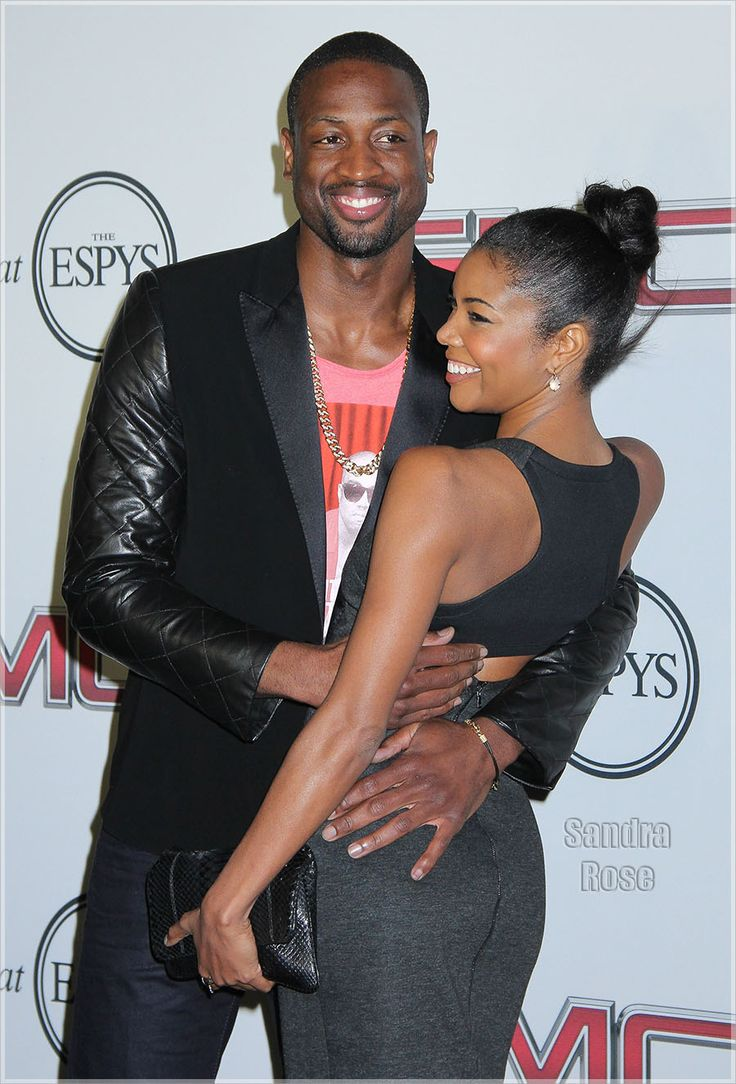Dwyane Wade And Gabrielle Union  Cuties Couples-5417