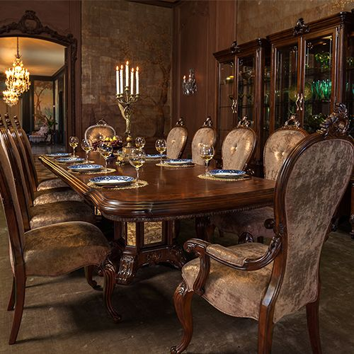 Michael Amini Dining Room Furniture: Dinner Parties, Formal Living Rooms And Home Ideas