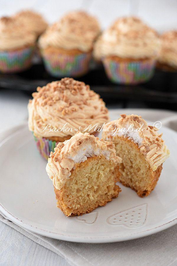 Honig Mandel Muffins Mit Baiser Rezept Kuchen Backen