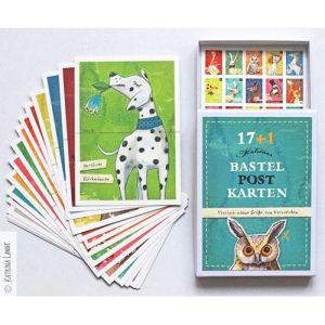 Schöne Postkarten zum Basteln für jede Gelegenheit - entworfen von Katrina Lange