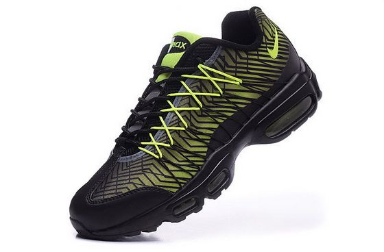 buy popular 1d5fd a1a56 Genuine Nike Air Max 95 Hyp Prm 20 Anniversary Ultra Jacquard Neon Black  Volt Shoe