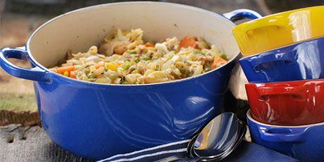 Roast Chicken Noodle Soup | Baked Treats | Pinterest
