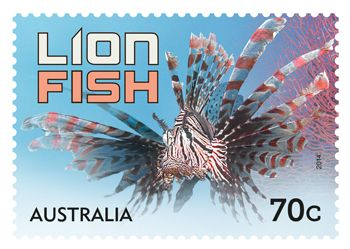 The Things that Sting stamp issue for this year's Stamp Collecting Month features six spectacular creatures including the European Wasp, Bull Ant, Tiger Snake, Reef Stonefish, Common Lionfish and the Bluespotted Fantail Ray. Buy stamps here: http://auspo.st/1mMtTT8