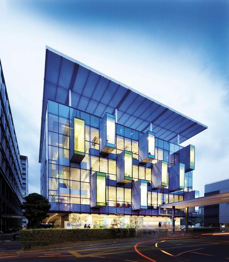 Neoplasticismo. Biblioteca Comunitaria Bishan, Bishan (Singapur) por Look Boon Gee. 2006