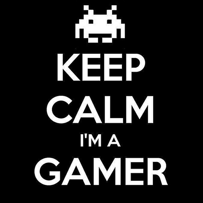 Keep calm I'm a gamer.  Follow me if your new Click on the link in the bio to get some really cool gaming gear @mystikzgaming  Turn on Post Notifications Double Tap Tag 3 friends if you see this  Hashtags - (ignore please). #mystikzgaming #gaming #gamer #gamingsetup #pcbuild #gamingcontroller #game #battlefield #workspace #dreamsetup #workstation #pcgaming #pc #desk #setup #design #style #leagueoflegends #electronics #pc #sickgamingsetup #razer #nvidia #gtx #amd #twitch #steam #counterstrike…