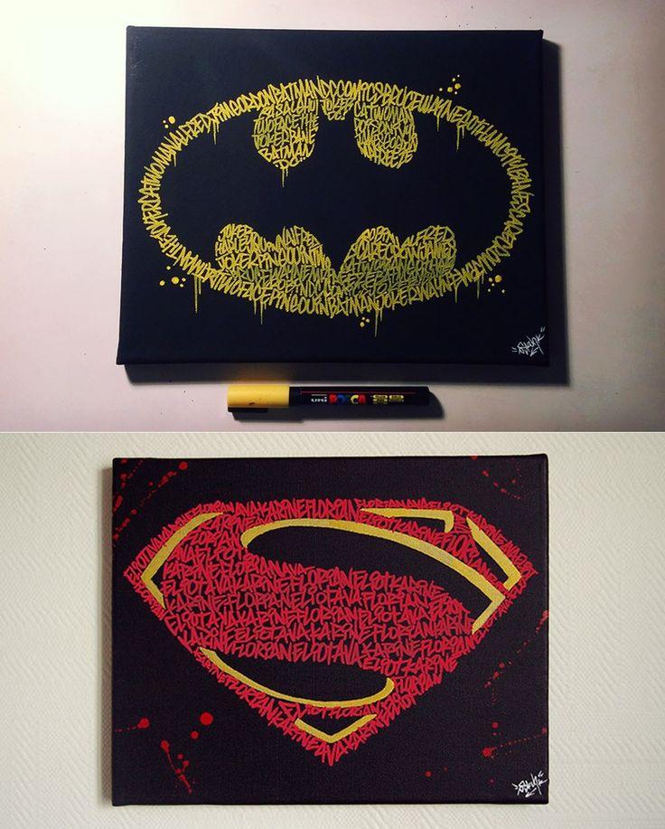 Image Of BATMAN Or SUPERMAN