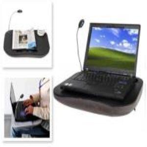 Minderli ve Lambalı Laptop Sehpası