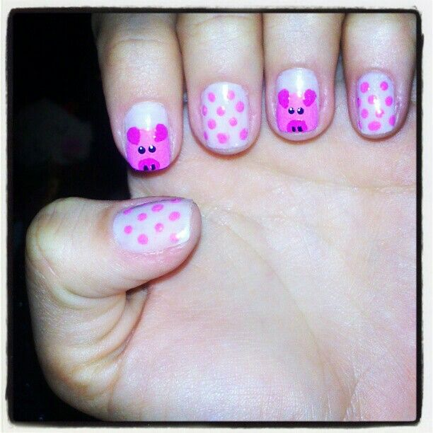 Little pig nails