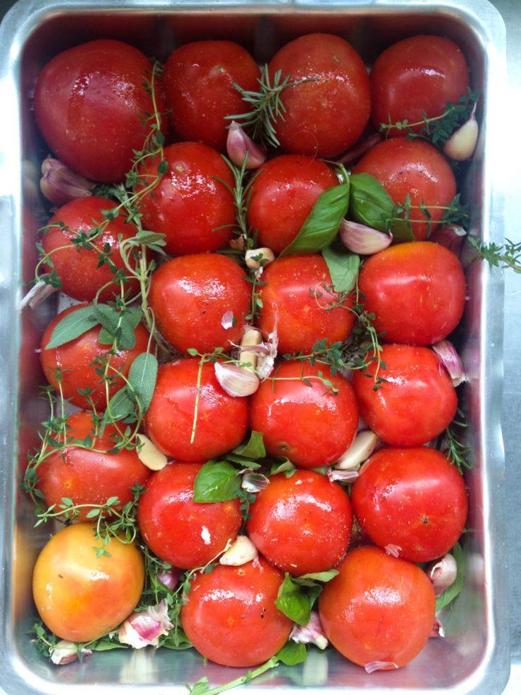 molho de tomates assados para sempre ter em casa | http://comalaemcasa.com.br/2016/10/molho-de-tomates-assados-para-sempre-ter-em-casa/