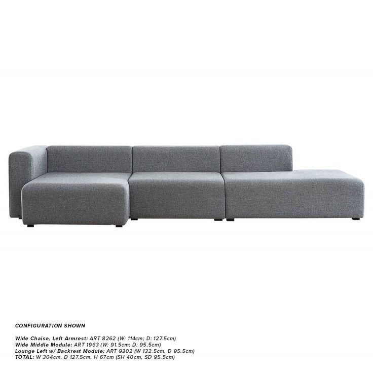 Super soft modular sofa from Hay in various Kvadrat fabrics...