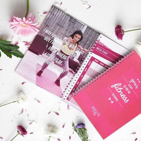 NEW: Your Very Own Fitness Journal