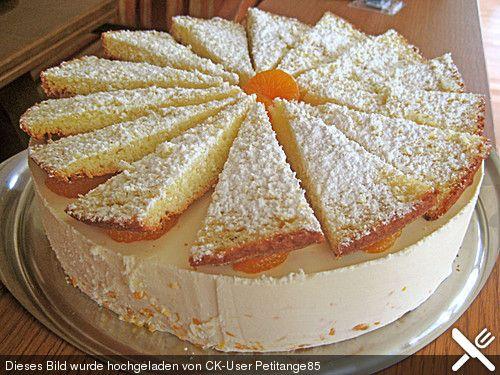 Mascarpone - Mandarinen - Torte