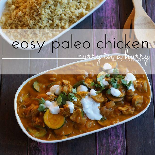 easy paleo curry chicken