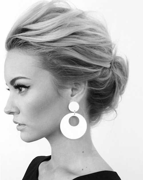 Simple Updo Short Hair More http://scorpioscowl.tumblr.com/post/157435546955/more