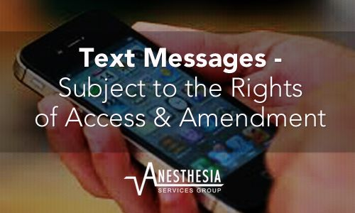 Do you use a mobile device or more particularly texting to share patient information? If so, your text messages could be in violation of the HIPAA privacy policies.