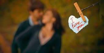 O que sinto por você não precisa de propaganda mas é tão especial que merece um anuncio: Eu te Amo!