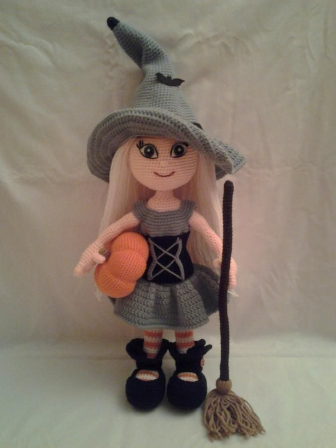 WANDA The Witch Doll - Crochet creation by Sherily Toledo's Talents