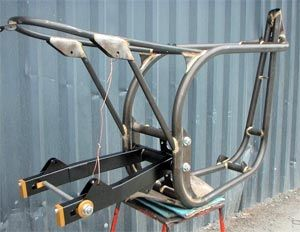 Featherbed Frame Kit   What Is A Norley?