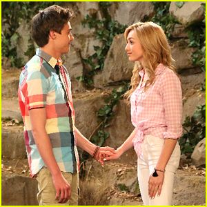 bunkd emma and xander make it official relationship