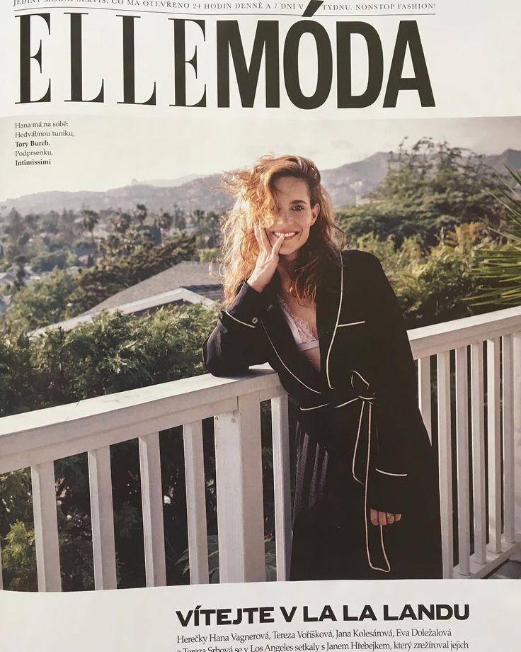 ❤❤❤thank you Elle thank you Rene and Radka!Elle 7/2017 #photoshooting #actress #elle #elleczech #cover #friends #la #lalife #hanavagnerova #fun #lovemylife @elleczech @reneandradka