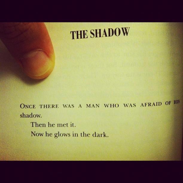 #Shadow #Man #Powerful #energy #glows #AJB