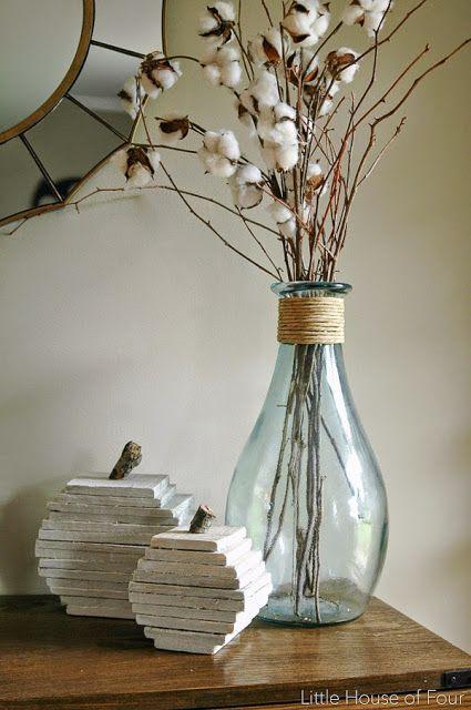 DIY rustic pumpkins made from pallet wood. -Littlehouseoffour.com