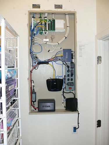 79 best residential structured wiring images on pinterest rh pinterest com Residential Wiring Closet Computer Network Wiring