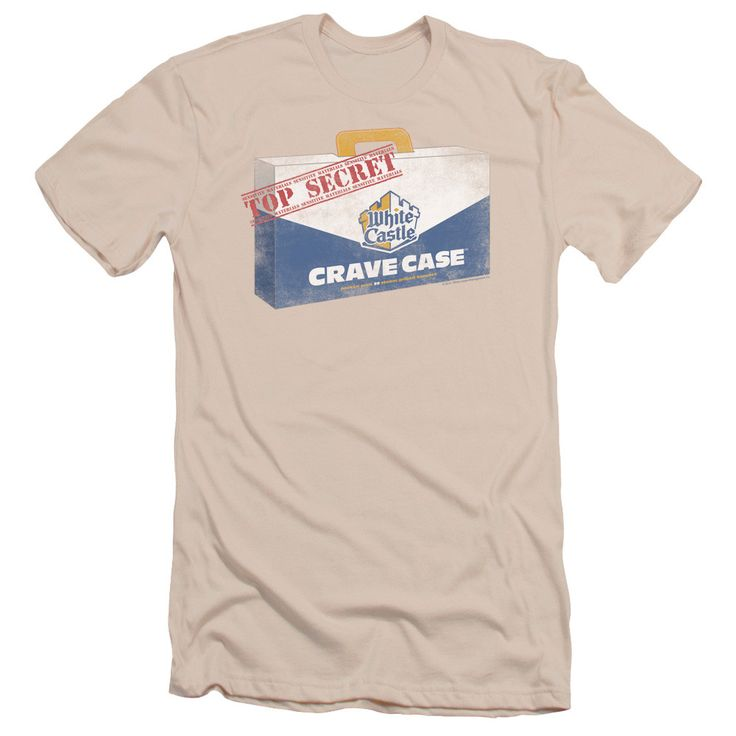 WHITE CASTLE/CRAVE CASE - S/S ADULT 30/1 - CREAM - SM
