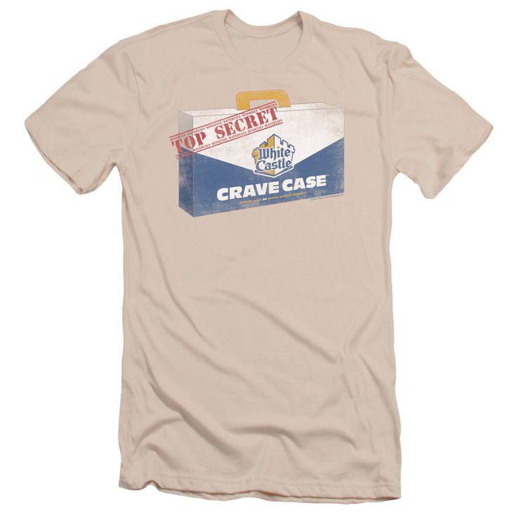 WHITE CASTLE/CRAVE CASE - S/S ADULT 30/1 - CREAM -