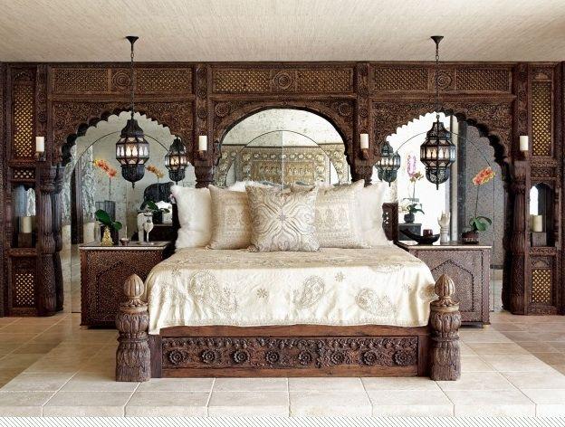 Cher's bedroom, LA: Lawrence Bullard, Decor, Bohemian Interiors, Beds, Dreams, Moroccan Bedrooms, Moroccan Style, Los Angels, Design