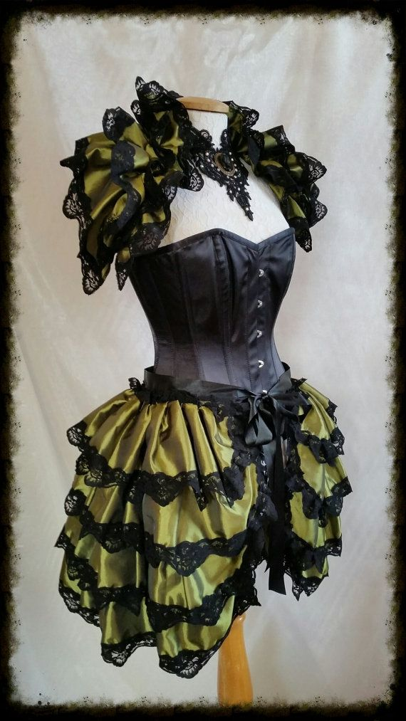Halloween Burlesque POISEN IVY 4 layeted by GothicBurlesque