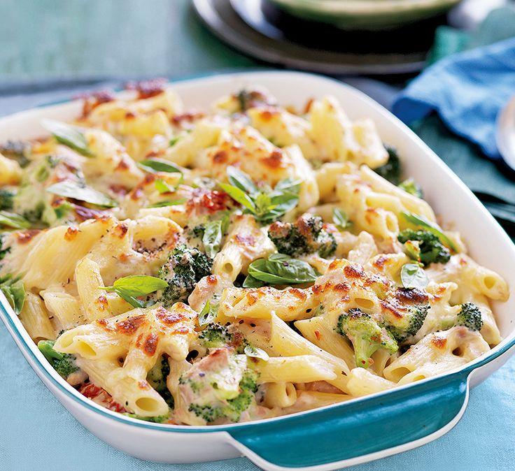 Creamy tuna & broccoli pasta bake - Healthy Food Guide