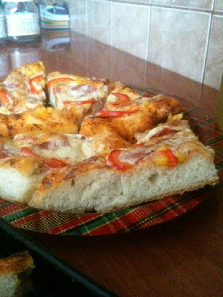 So fluffy delicious Pizza<3