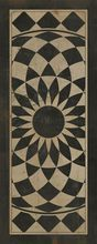 """Decorative vintage vinyl floor cloths with exquisite designs and colors!  The large assortment can help you meet any of your design needs.  Use them in the home, restaurant, office space, or retail stores. Durable. Lays flat. Non-slip surface. Soft and flexible. Ultra thin at 1/8"""" thick."""